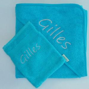 Gilles - subtiel in zilvergrijs geborduurd
