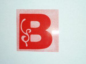 Sierletter B