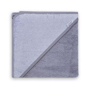 badcape grijs antraciet