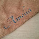 Tutdoekje gevlekte hond Amelia - detail