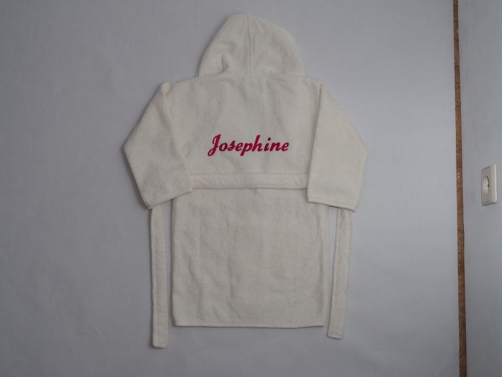 Ecru badjasje Josephine