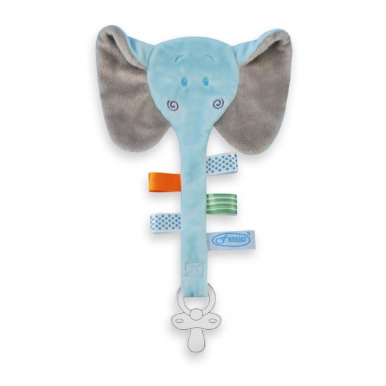 tutdoekje olifant blauw
