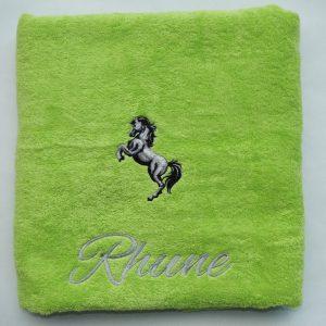 Handdoek met paard - Rhune