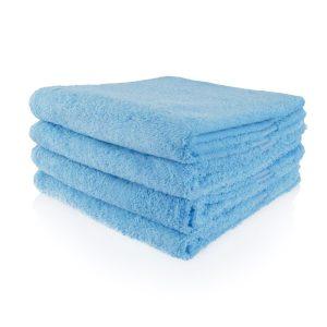 Zachtblauw badtextiel
