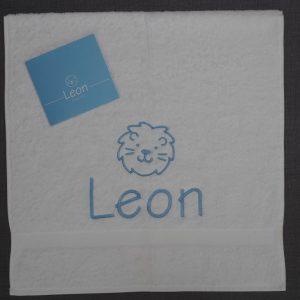 Handdoek Leon met leeuwenkopje