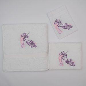 Handdoekenset eenhoorn