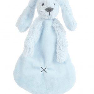 Knuffeldoekje - konijn licht blauw