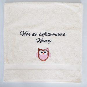 Handdoek moederdag