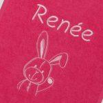 detail fuchsia slab Renée