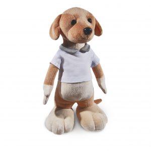 staande hond - knuffel