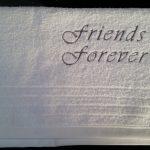 Handdoek Friends Forever