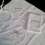 Geboorteset slab kaphanddoek washand Juliette
