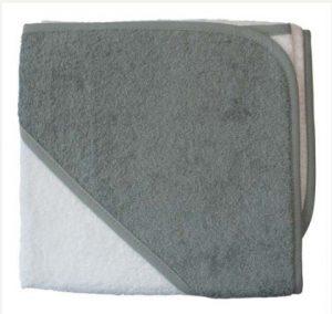 badcape wit grijs