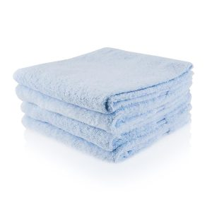 ijsblauw badtextiel