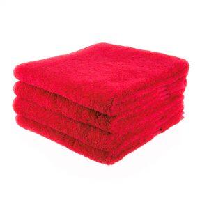 Rode handdoek