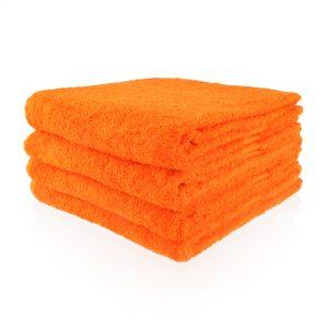 Oranje handdoek